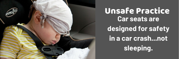 Positional-Asphyxia-in-Infants-sleep-in-car-seat-unsafe